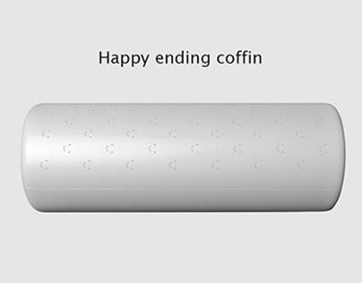 Happy ending coffin