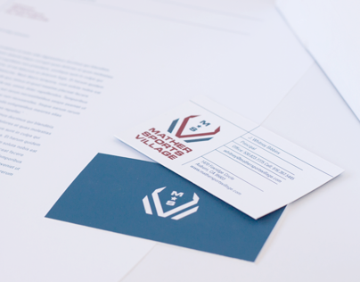 Mather Sports Village Identity