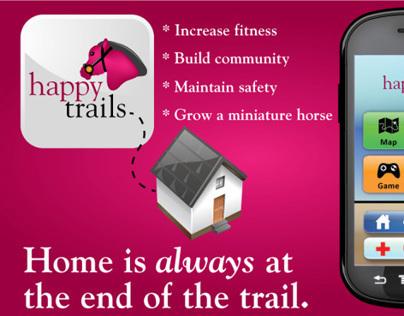 Happy Trails UX/UI Design