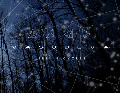 "Vasudeva ""Life In Cycles"" album art"