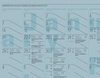 Morningstar Training Calendar—Winter 2013