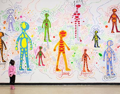 A Fruitful Life Mural