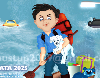 Futuristic Vision_Kolkata 2025_Illustration