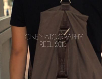 Cinematography Reel 2013