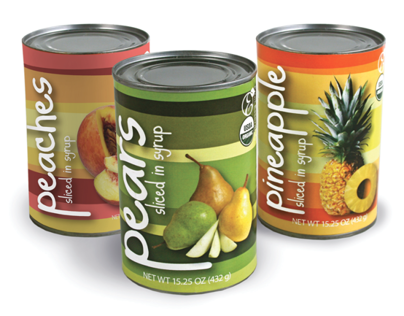 PACKAGING - Canned Fruit Packaging Design
