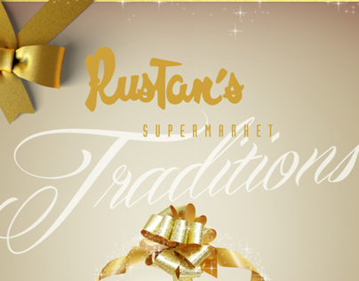 Traditions Christmas Catalog Cover Design