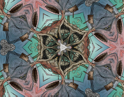 Kaleidoscope illustration