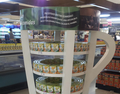 POS Display Knorr Quick Soups