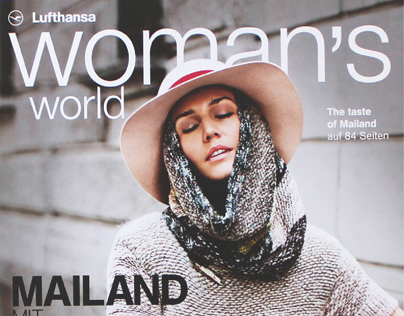 Lufthansa Womens World Magazine