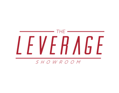 The Leverage Showroom business cards