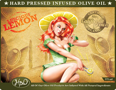 Hard Pressed Olive Oil