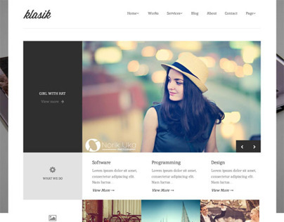 Klasik, WordPress Responsive Retina Ready Theme