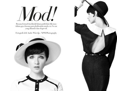 Harpers Bazaar Indonesia July13: Mod!
