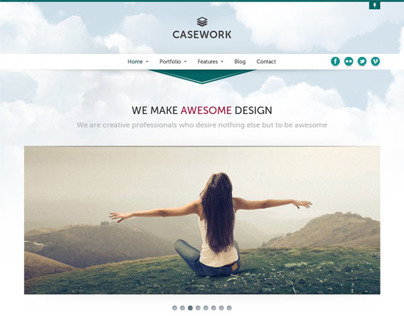 Casework, WordPress Design Studio Theme