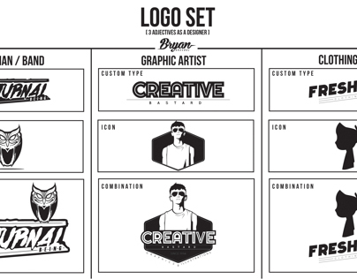 LOGO SET: 3 Adjectives As A Designer