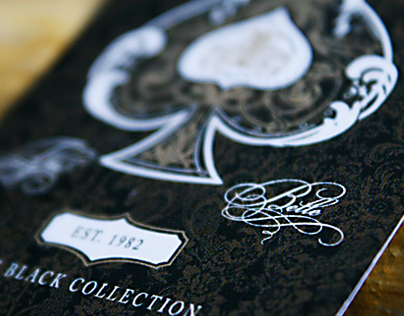 The Belle - Customized Playing Cards in Black or White