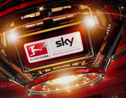 Motion Graphics for Sky Deutschland AG
