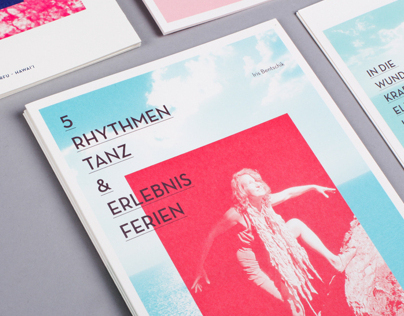 5Rhythmen | Broschure and Flyer