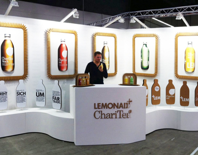 Booth for Lemonaid&Charitea