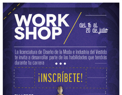 Workshop Moda UVM