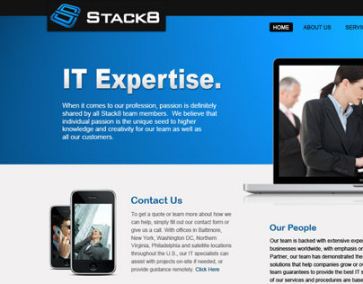 Stack8 Website