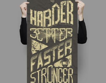 Daft Punk - Harder! Better! Faster! Stronger!