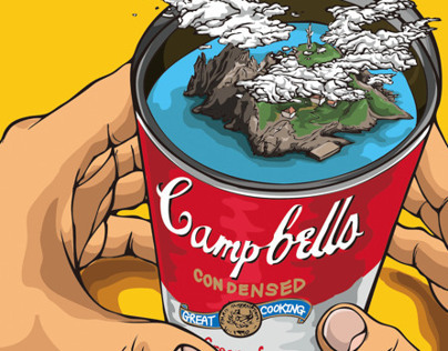Island, in Campbell Soup