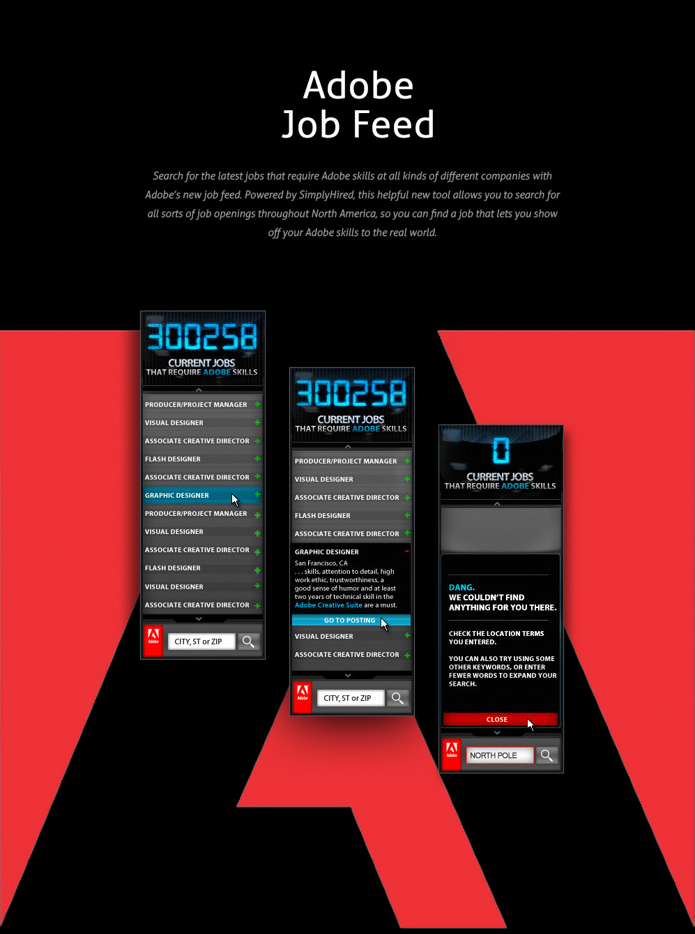 Adobe - Job Feed