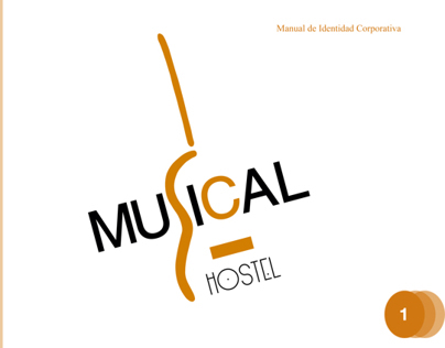 Manual de Identidad Corporativa para Musical Hostel