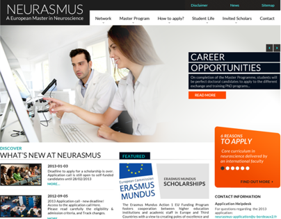 Neurasmus Website