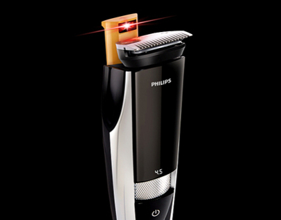 Philips Laser Shaver - Retouching