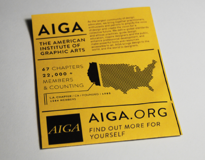 AIGA // Learn About Us