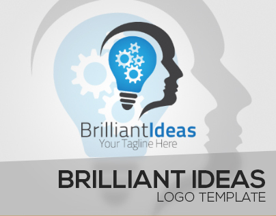 Brilliant Ideas Logo Template