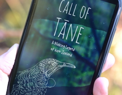 Call of Tāne | an app that tells stories about the bush