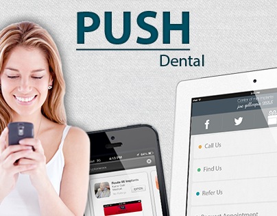 Push Dental Website
