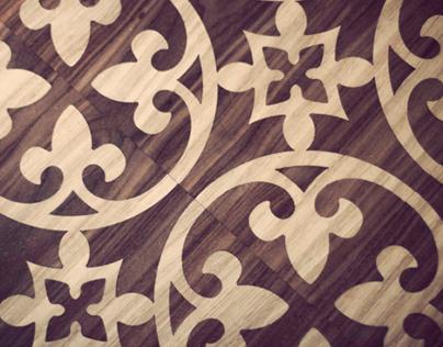 Veneer Tile Table