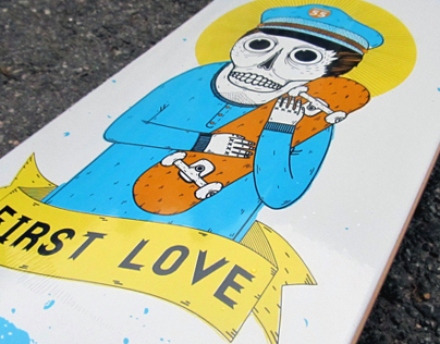 Skateboard graphic for skateshop.ru