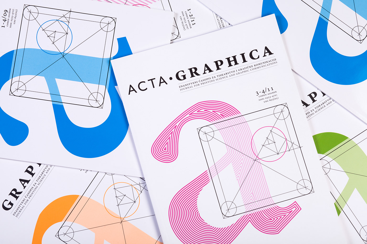 Acta Graphica Magazine redesign project