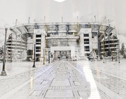 University of Alabama Sketch