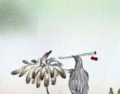 A bird who love a flower(2011)