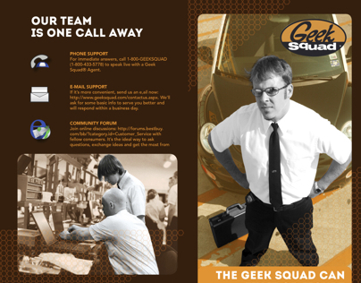 Geek Squad Brochure