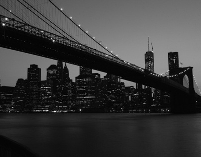 New York City: Dawn and Night
