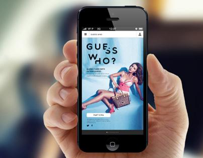 Guess Microsite & Mobile App