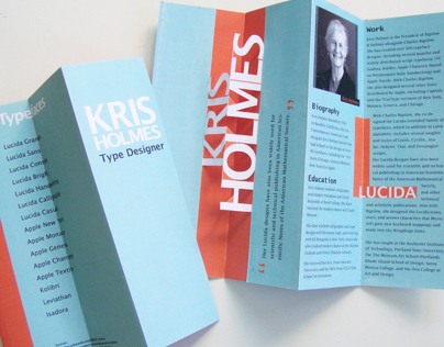 Type Designer Brochure