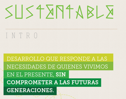 Diseño Sustentable / Sustainable Design