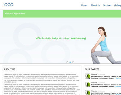 Design For Physiotherepists Personal Website
