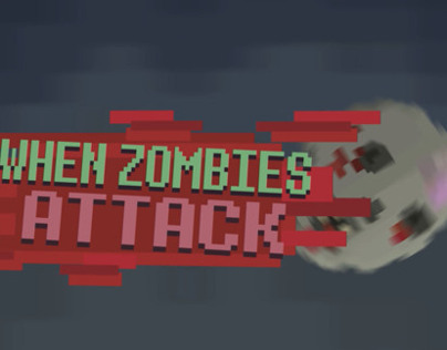 Infographic Motiongraphic - When Zombies Attack