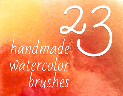 23 Handmade Watercolor Brushes
