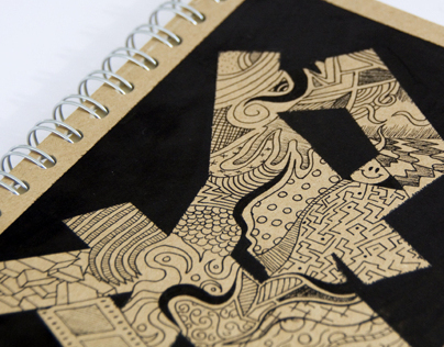 Handmade cover notebooks