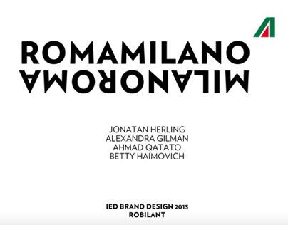 ROMAMILANO | Alitalia